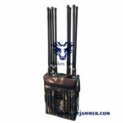 軽量バックパック IED UHF VHF WiFi 3G 4G GPS 携帯電話信号 Jammer