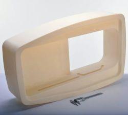 SLA/PMMA SLS Clair/PC 3D Printing Service prototypes en acrylique transparent