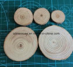 Municipio de madera, Cine y Televisión Props DIY redonda de madera originales de madera pulida de Doble Cara Oval (M-X3607)