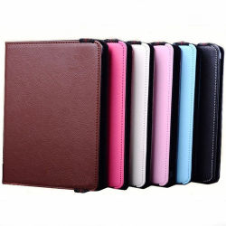 """7 """" Inch 8 """" Inch TabletsのためのユニバーサルTablet Leather Case"""