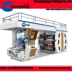 Máquina de impressão flexográfica Papel Satelliate (Tambor Central)
