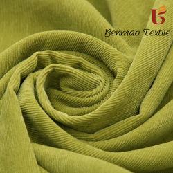 11 El País de Gales teñido de polyester Spandex tejido de pana para prenda Hometextile
