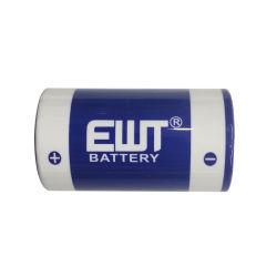 Lítio Li-Socl primária2 ER34615 3,6V tamanho D 19000mAh Bateria de Lítio 19ah para contador de gás