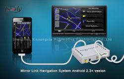 スマートフォンミラーリンクナビゲーションボックス(ソニー用、ミュート専用回線 / タッチスクリーン付き
