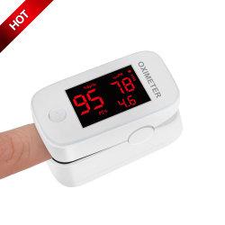 CE 認証血液酸素テスターのフィンガーパルスオキシメータを使用した指先 高齢者のためのモニタおよび心拍数テスター