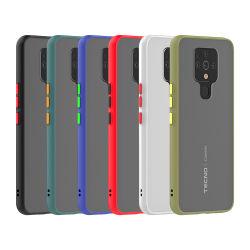 prix d'usine transparent coloré PC dépoli bouclier TPU Cas pour Tecno Camon 16 accessoires de téléphonie mobile