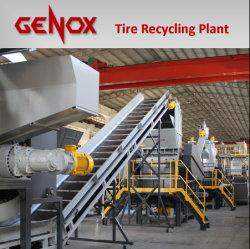 Gts Ligne de recyclage de pneus / machine de recyclage/Shredder/machines en plastique