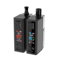 China-Verteiler Typ-c Aufladeeinheits-elektronisches Zigaretten-Kasten-MOD Vape mit Becken zwei
