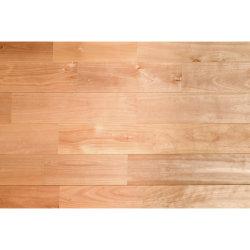 Suelos de madera maciza Finger-Jointed Cerezo chino/abedul/Simple/Organic/Minimalismo/Ecológicamente amigables Voc-Free///resistencia a la abrasión resistencia al rayado