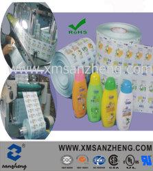 Etiketten van de Fles van de Shampoo van de Producten van het Huishouden van het water de Bestand Doorzichtige Permanente Schoonmakende