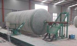 FRP/GRP de verticale Lopende band van de Tank van de Machine van de Gloeidraad van de Tank Windende Chemische