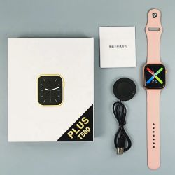 2021 Reloj digital T500plus vida Monitor impermeable podómetro paso de la Frecuencia Cardiaca Llamada Bt Bt Music Player Smartwatch