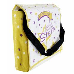 PP tejida bolsa de regalo, con bandolera