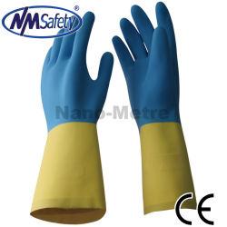 Nmsafety résistant aux produits chimiques et de latex nitrile Gants de travail