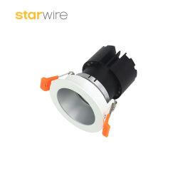 Профессиональный объектив с антибликовым покрытием и низким энергопотреблением 4 Вт встраиваемый светодиодный индикатор початков затенения