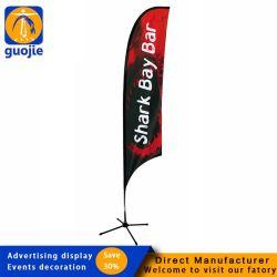 Custom plume imprimée bannière Beach Flag bon marché pour l'événement