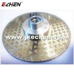 5 pouces Electroplated Diamond les lames de scie avec embase de 5/8-11 M14