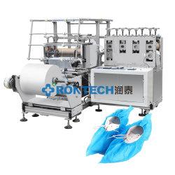 PE/CPE Surchaussure médicaux jetables Making Machine