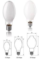 Haute pression de vapeur de mercure des lampes fluorescentes et de bonne qualité à bas prix 80W/125W/175W/250W/400W/1000W