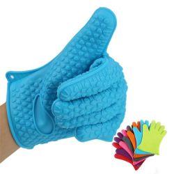 Gants de protection en silicone résistant four barbecue des gants