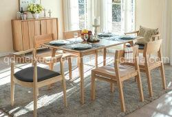 固体木のダイニングテーブルの居間の家具(M-X2430)