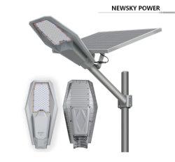 Lampada solare a LED per esterni IP67 in alluminio Newskypower per Giardino Parcheggio Park Road