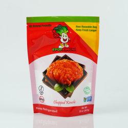 150g 250g пластиковой ламинированные аромат жидкость консервированием кимчи упаковки свежесть продуктов мешок с застежкой на молнию блокировки сдвиньте чехол для вторичной переработки