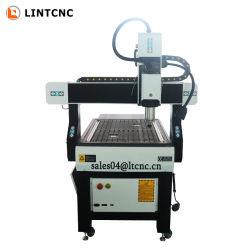 アルミ黄銅木材用ヘビーデューティミニ CNC フライス加工機 MDF アクリル合板デスクトップ 6090 鋳鉄製フレーム CNC ルータ