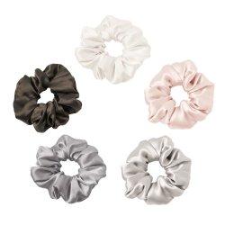 Normallack-reine Silk Qualitäts-Form-Silk Haar Scrunchies für Dame