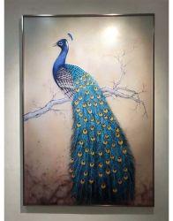 Hotel Arte Decorativa Pintura na parede de vidro no vidro temperado