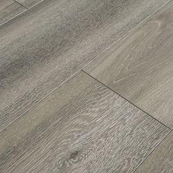 8.3Mm HDF gaufré Hickory tranchant ciré planche en vinyle PVC Sols laminés en bois de bois stratifié