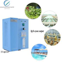 Anti macchina 8000mg/H di purificazione del raggruppamento di trattamento delle acque del generatore dell'ozono del virus