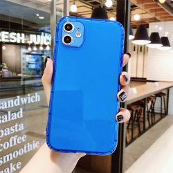 多彩なTPUの耐震性の方法携帯電話はiPhoneのケース6/7/8/X /Xs /Xr /11promaxのためのカスタムカバーを包装する