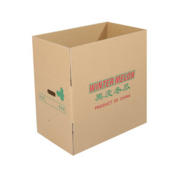 Imprimé des boîtes en carton ondulé boîte en carton<br/> d'exportation standard