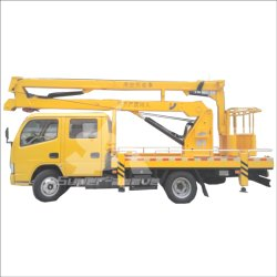 Isuzu 트럭 장착형 고항공 작업 플랫폼 18-28m