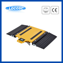 Larga vida útil de la almohadilla de peso del eje de escala de medición electrónicos portátiles camiones