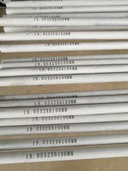 ASTM A269 TP316L 19.05X2X6100мм сшитых из нержавеющей стали трубы и трубы