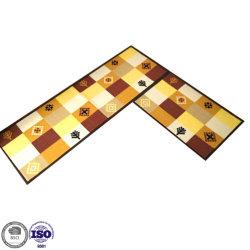 De poliéster colorido moderno tapete tapetes para sala de estar e a porta