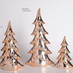 2020 Nouvelle conception Forme d'arbre de Noël Décoration en céramique pour la décoration d'accueil