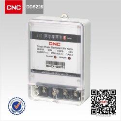 مقياس كهرباء WiFi مقياس ذكي ثلاثي الأطوار، تم صنعت مقياس طاقة شاشة عرض LCD مقياس الطاقة في الصين مقياس طاقة أحادي الطور كهربائي