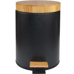 단계 휴지통은 대나무 뚜껑 단계 쓰레기통 쓰레기 통을 설정할 수 있습니다