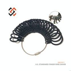 US Standardring Sizer Anzeigeinstrument-Schmucksachen bearbeiten Mkt077, das Ring des Finger-5 - 17 Sizers sortiert