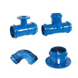 ISO2531 En545 من حديد الدوق Di-PVC اضغط على تركيبات الأنابيب المشتركة بالنسبة إلى PVC Pipe