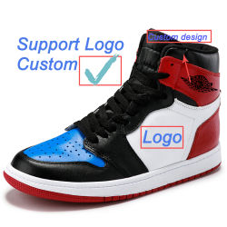 Sapatos de marca personalizada da marca da aviação de couro Calçado Desportivo Retro Og Chicago tênis de basquete masculino