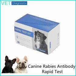 犬の狂犬病抗体高速診断検査キット 獣医ワクチン検査血液検査