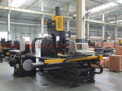 Fabricación de la estructura de acero marca hidráulica CNC punzonadora de placa de acero de 1500mm*775mm*25mm