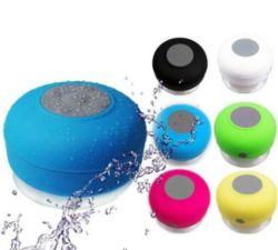 携帯用防水吸水シャワー、移動式小型 Bluetooth 無線スピーカー