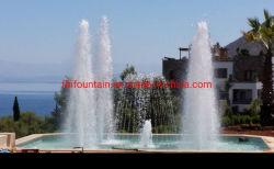 2.5m 높이의 외부 프로그램 제어 LED Water Fountains