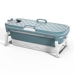 Portatile per adulti vasca da bagno doccia pieghevole per bambini Casa pieghevole piscina grande Sauna vasca idromassaggio vasca da bagno autoportante con coperchio