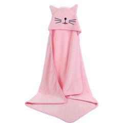 Ultra-suave toalhas de Bebé com tampa de desenhos animados ideal para o banho do bebê Toalha de capuz